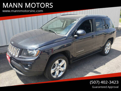 2014 Jeep Compass for sale at MANN MOTORS in Albert Lea MN