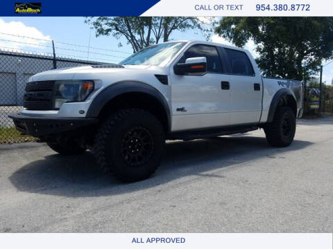 2013 Ford F-150 for sale at The Autoblock in Fort Lauderdale FL
