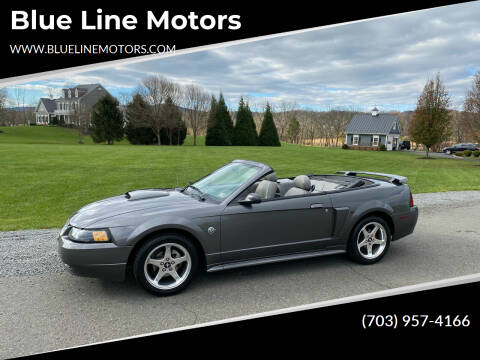 2004 Ford Mustang for sale at Blue Line Motors in Winchester VA