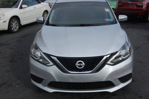 2016 Nissan Sentra for sale at D&H Auto Group LLC in Allentown PA