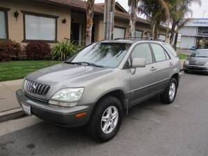 2002 Lexus RX 300 for sale at Inspec Auto in San Jose CA