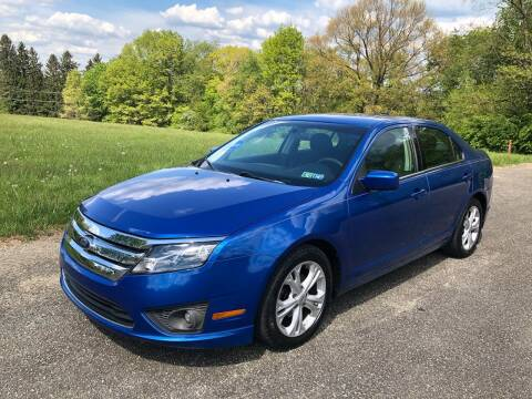 2012 Ford Fusion for sale at Hutchys Auto Sales & Service in Loyalhanna PA