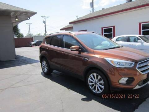 2017 Ford Escape for sale at Bitner Motors in Pittsburg KS