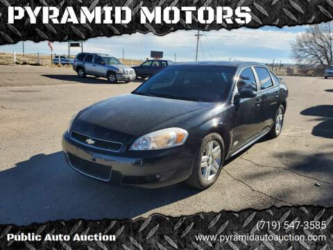2009 Chevrolet Impala for sale at PYRAMID MOTORS - Pueblo Lot in Pueblo CO