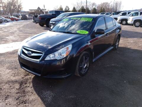 2011 Subaru Legacy for sale at Canyon View Auto Sales in Cedar City UT