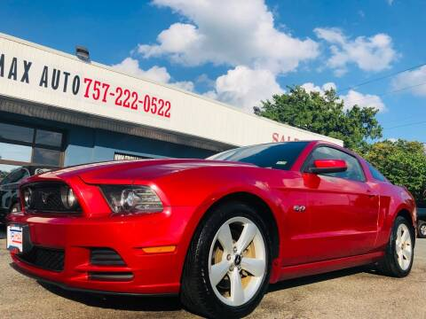 2013 Ford Mustang for sale at Trimax Auto Group in Norfolk VA