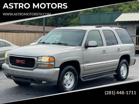 2004 GMC Yukon for sale at ASTRO MOTORS in Houston TX
