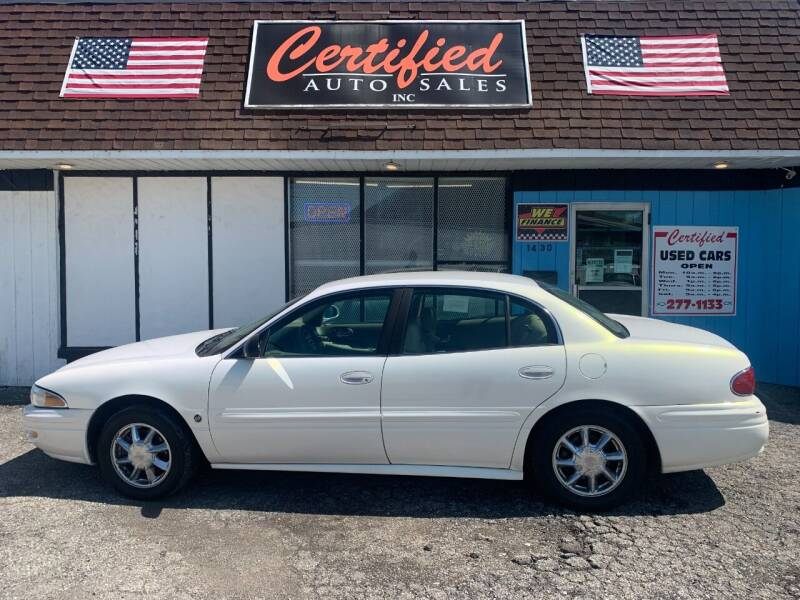 2004 Buick LeSabre for sale at Certified Auto Sales, Inc in Lorain OH