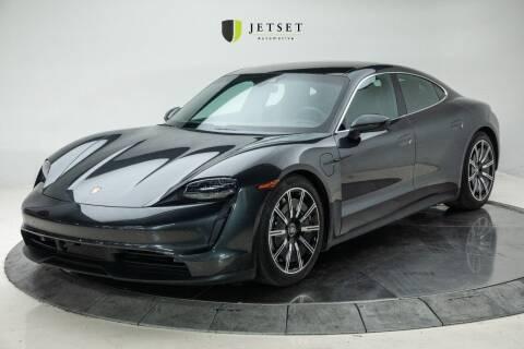 2020 Porsche Taycan for sale at Jetset Automotive in Cedar Rapids IA