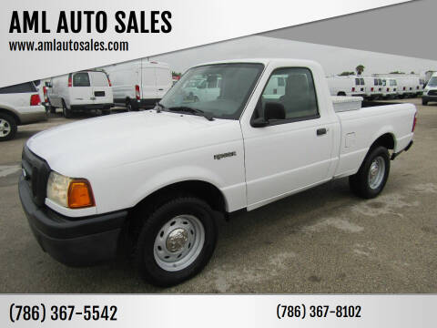 2005 Ford Ranger for sale at AML AUTO SALES - Pick-up Trucks in Opa-Locka FL