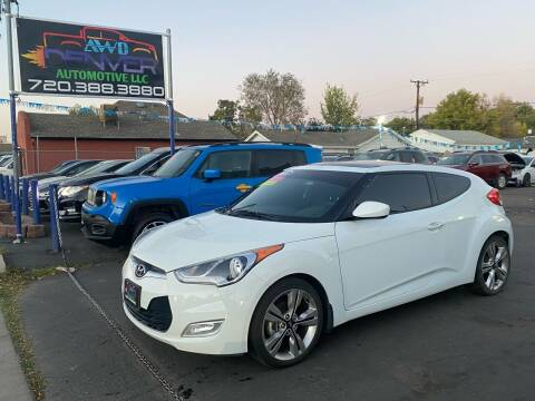 2016 Hyundai Veloster for sale at AWD Denver Automotive LLC in Englewood CO