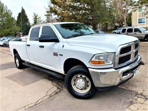 2011 RAM Ram Pickup 2500 for sale at CarDen in Denver CO