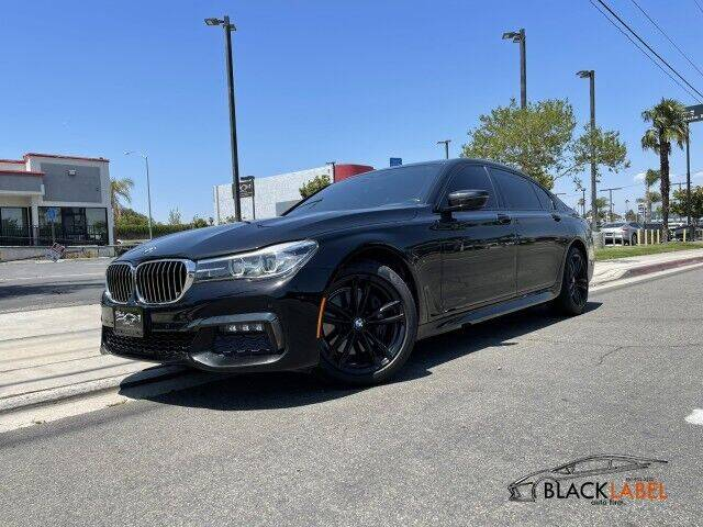 2016 BMW 7 Series for sale in Riverside, CA