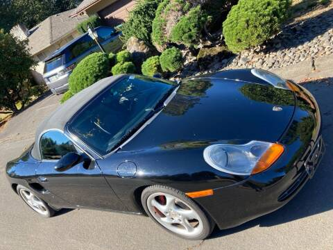 2002 Porsche Boxster for sale at Blue Line Auto Group in Portland OR