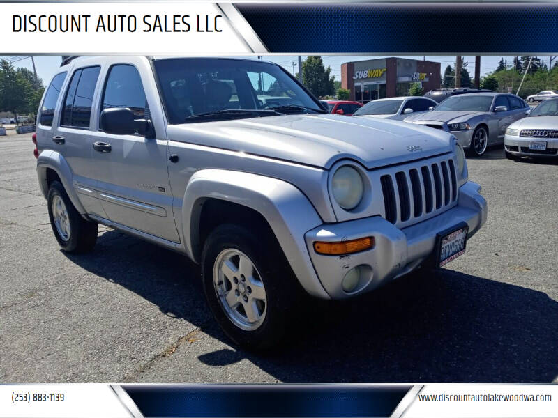 2002 Jeep Liberty for sale at DISCOUNT AUTO SALES LLC in Lakewood WA