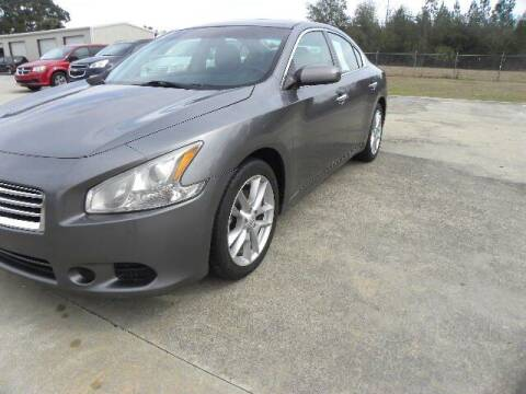 2014 Nissan Maxima for sale at VANN'S AUTO MART in Jesup GA