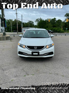 2015 Honda Civic for sale at Top End Auto in North Atteboro MA