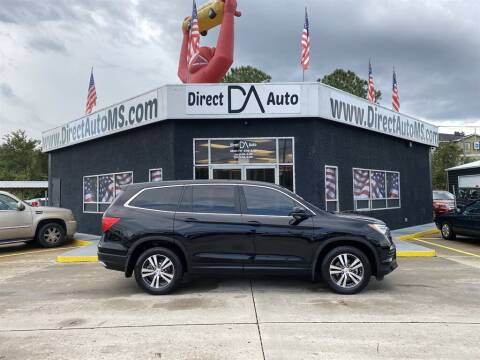 2017 Honda Pilot for sale at Direct Auto in D'Iberville MS