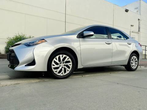 2017 Toyota Corolla for sale at New City Auto - Retail Inventory in South El Monte CA