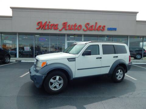2007 Dodge Nitro for sale at Mira Auto Sales in Dayton OH