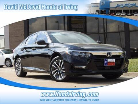 2020 Honda Accord Hybrid for sale at DAVID McDAVID HONDA OF IRVING in Irving TX