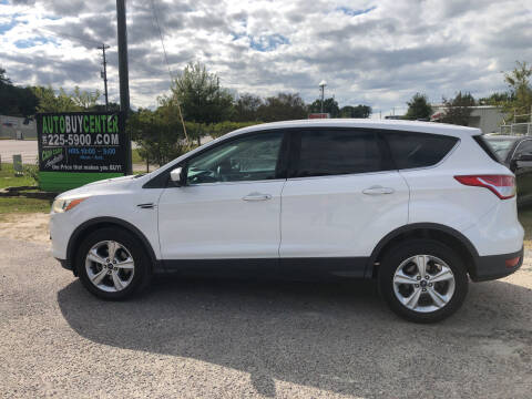 2013 Ford Escape for sale at AutoBuyCenter.com in Summerville SC