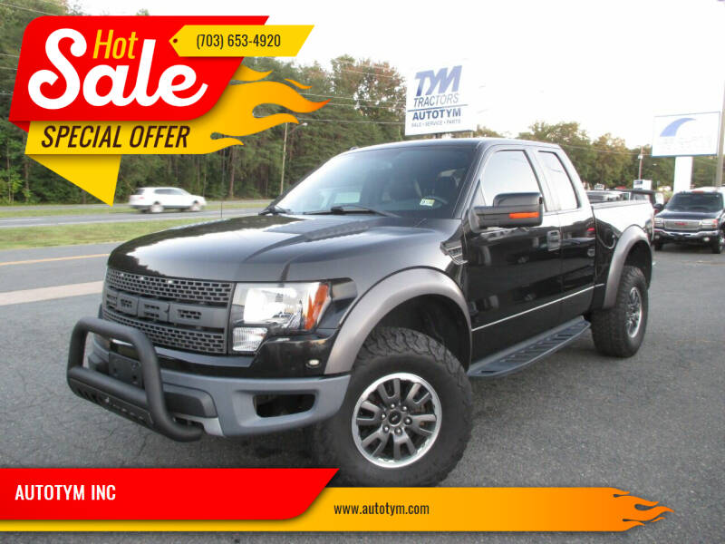 2010 Ford F-150 for sale at AUTOTYM INC in Fredericksburg VA