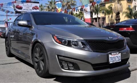 2015 Kia Optima for sale at AMC Auto Sales Inc in San Jose CA