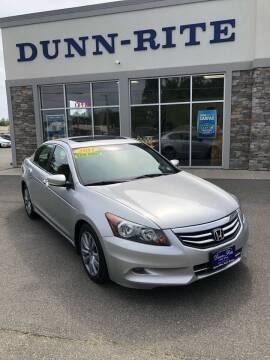 2011 Honda Accord for sale at Dunn-Rite Auto Group in Kilmarnock VA