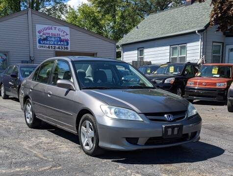 2005 Honda Civic for sale at Budget City Auto Sales LLC in Racine WI