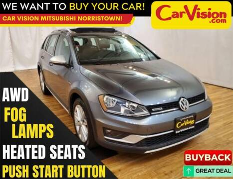 2017 Volkswagen Golf Alltrack for sale at Car Vision Mitsubishi Norristown in Trooper PA