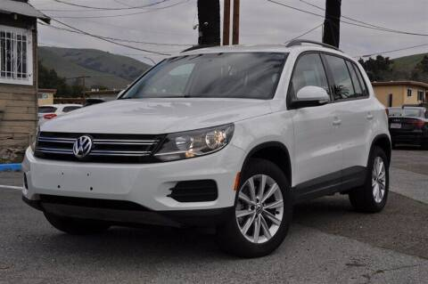 2017 Volkswagen Tiguan for sale at AMC Auto Sales, Inc. in Fremont CA