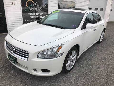 2014 Nissan Maxima for sale at HILLTOP MOTORS INC in Caribou ME