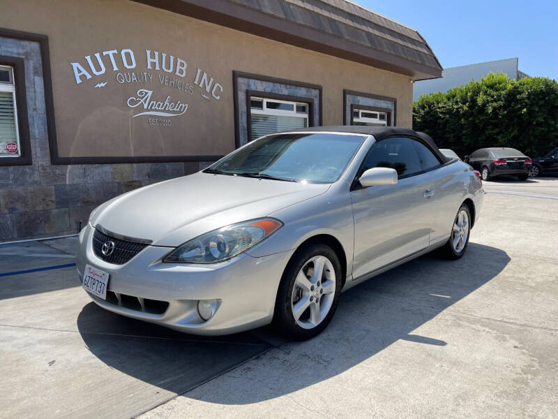 2006 Toyota Camry Solara for sale at Auto Hub, Inc. in Anaheim CA