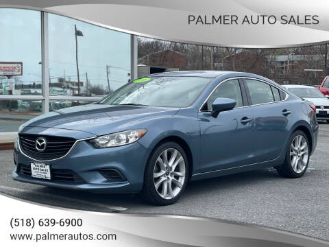 2016 Mazda MAZDA6 for sale at Palmer Auto Sales in Menands NY