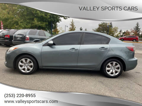 2013 Mazda MAZDA3 for sale at Valley Sports Cars in Des Moines WA