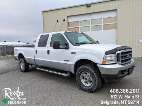 2004 Ford F-350 Super Duty for sale at Danhof Motors in Manhattan MT