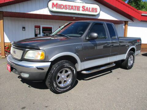 2003 Ford F-150 for sale at Midstate Sales in Foley MN