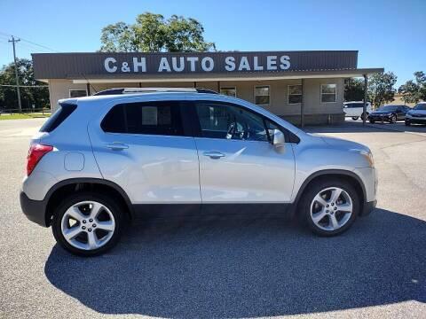 2016 Chevrolet Trax for sale at C & H AUTO SALES WITH RICARDO ZAMORA in Daleville AL