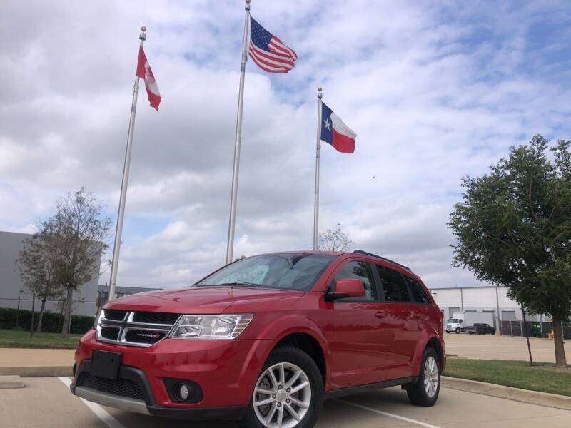 2014 Dodge Journey for sale at TWIN CITY MOTORS in Houston TX