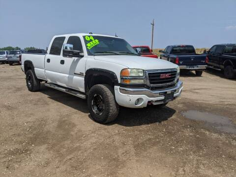 2004 GMC Sierra 2500HD for sale at HORSEPOWER AUTO BROKERS in Fort Collins CO