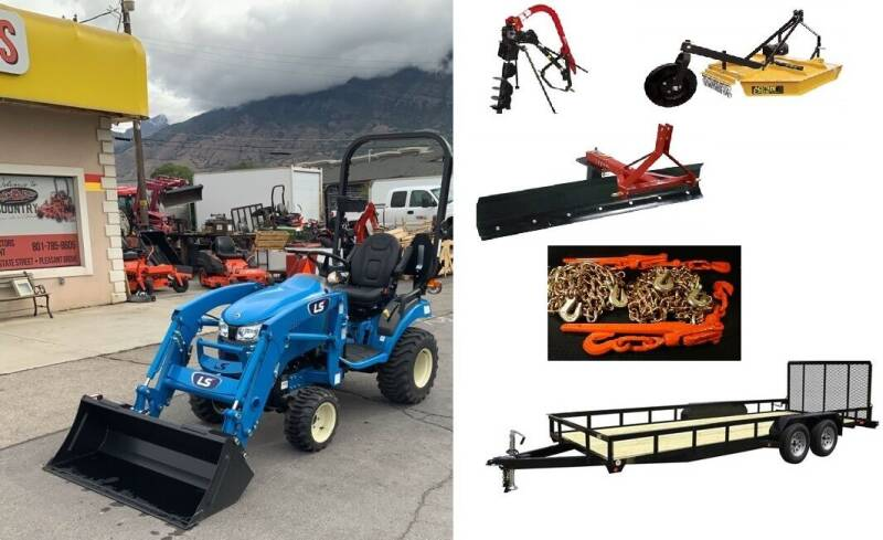 2021 LS MT125H PACKAGE DEAL! for sale at Hobby Tractors - New Tractors in Pleasant Grove UT