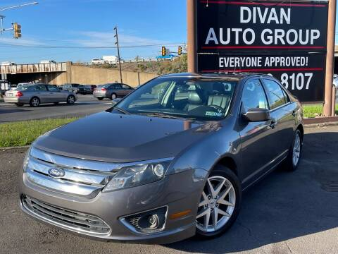 2012 Ford Fusion for sale at Divan Auto Group - 3 in Feasterville PA