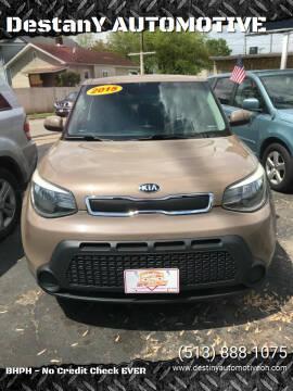 2015 Kia Soul for sale at DestanY AUTOMOTIVE in Hamilton OH