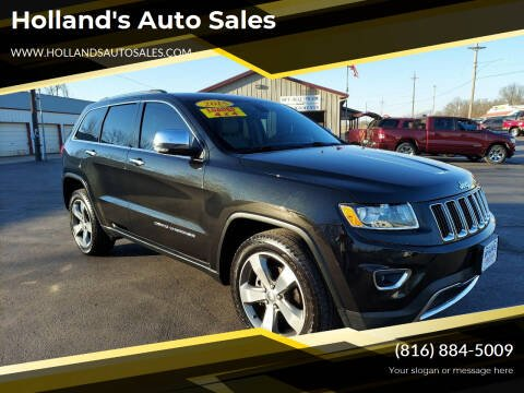 2015 Jeep Grand Cherokee for sale at Holland's Auto Sales in Harrisonville MO
