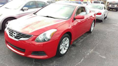 2010 Nissan Altima for sale at Tony's Auto Sales in Jacksonville FL