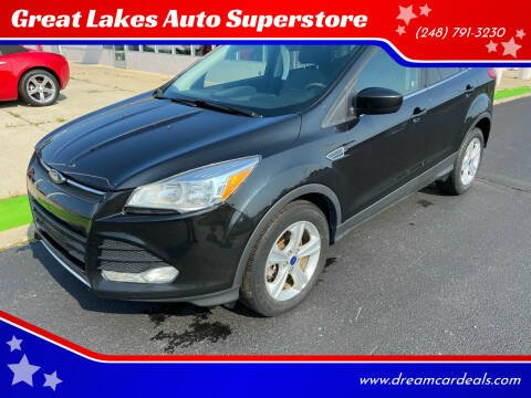 2014 Ford Escape for sale at Great Lakes Auto Superstore in Waterford Township MI