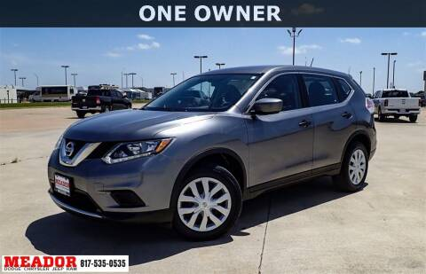 2016 Nissan Rogue for sale at Meador Dodge Chrysler Jeep RAM in Fort Worth TX