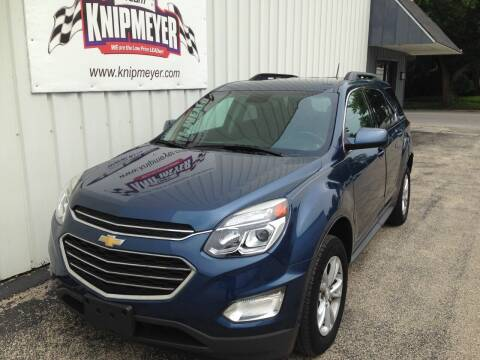 2016 Chevrolet Equinox for sale at Team Knipmeyer in Beardstown IL