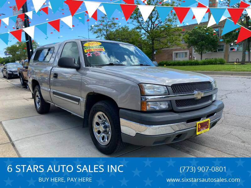 2005 Chevrolet Silverado 1500 for sale at 6 STARS AUTO SALES INC in Chicago IL